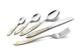 厂家热销不锈钢刀叉勺系列产品 精美镀金 欢迎定做