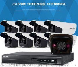 清溪镇渔梁围摄像头安装,九乡大利监控系统 4K高清