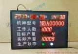 6-8LED数码管生产看板流水线设备生产状态监控电子看板