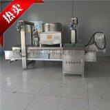 DR500兰花串油炸生产线 自动兰花串油炸设备