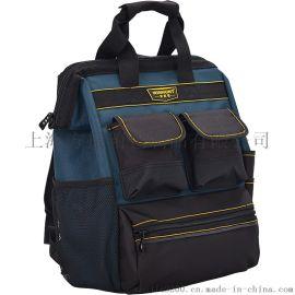 双肩工具背包电工工具袋大容量多功能维修耐磨订制