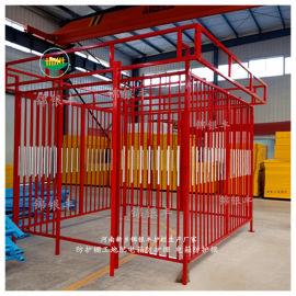 一二级组装式电箱防护栏杆定型化电箱防护栏现货厂家