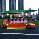 16座豪華電動觀光車,觀光酒吧車