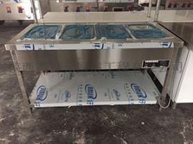 不锈钢保温售饭台不锈钢加工承接厨房工程排风系统机械设备制冷设备