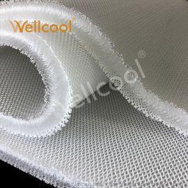 沃尔康供应3d三明治网眼布 15mm厚3d床垫材料