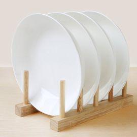 8寸陶瓷果盘  餐具汤盘 瓷器饭盘  广西北流陶瓷盘