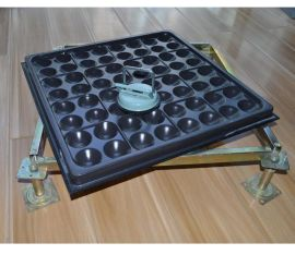 高耐磨全钢防静电地板机房抗静电地板35加厚架空活动地板配件管够