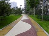 岳阳观光道路透水混凝土 优质彩色地坪材料厂家