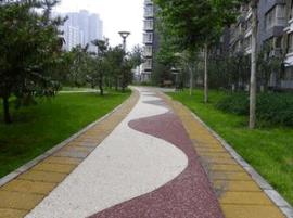 岳阳观光道路透水混凝土 **彩色地坪材料厂家