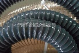 PU钢丝伸缩管 **PU伸缩管 透明钢丝波纹管