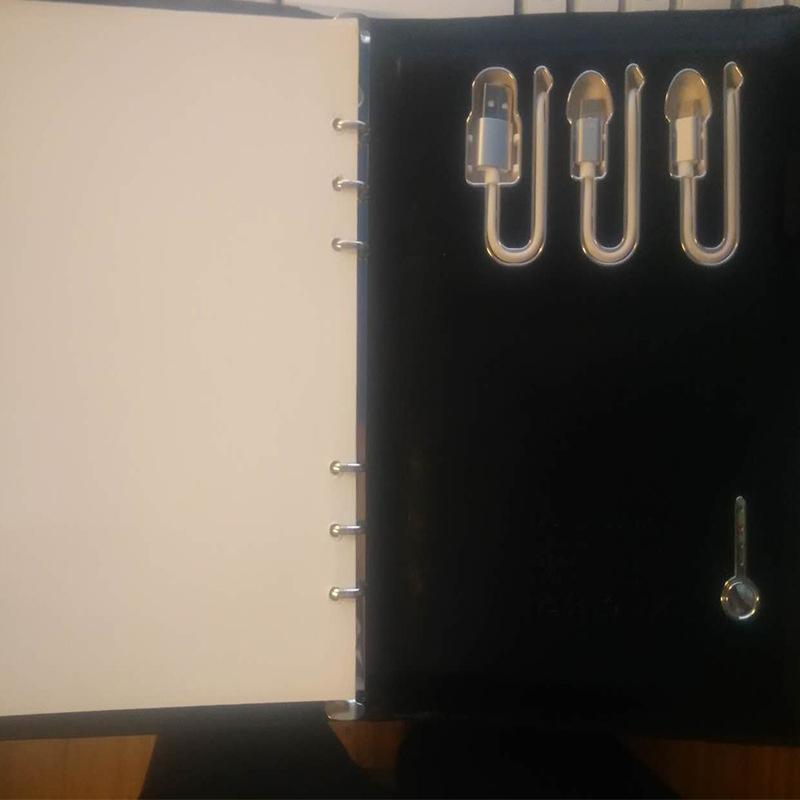商务移动电源视频笔记本 移动充电宝笔记本 创意礼品