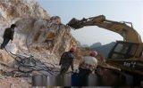 矿山采矿用奥博大型岩石劈裂机