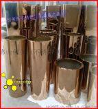 定做不锈钢花架花瓶 玫瑰金不锈钢花盆 美观持久  耐氧化 耐腐蚀