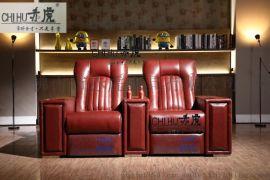 客厅VIP沙发 赤虎电动多能沙发 手动电动制冷杯伸展沙发厂家