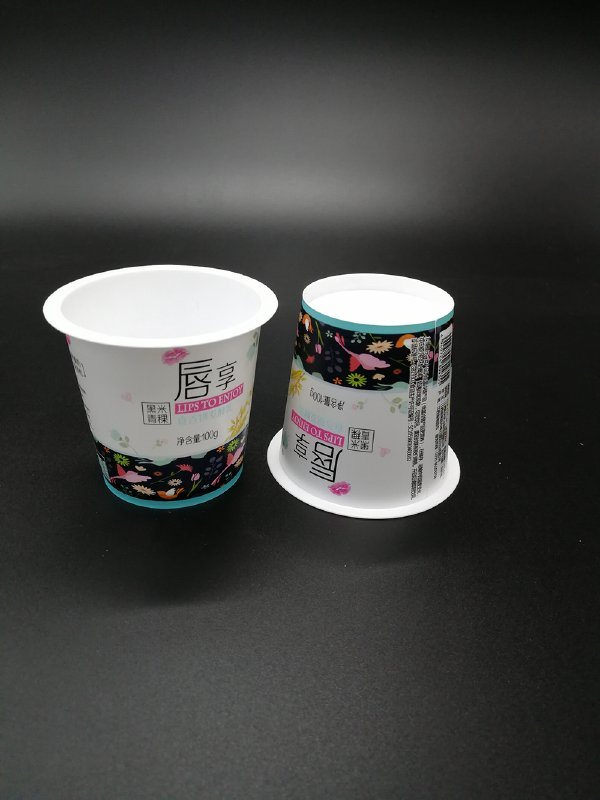 厂家直销模内贴标加厚高温杀菌龟苓膏杯 酸奶杯