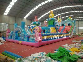 江苏徐州儿童充气城堡大鲨鱼真的好好玩