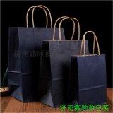 聊城通用购物袋牛皮纸手提袋 高低口纸袋生产商