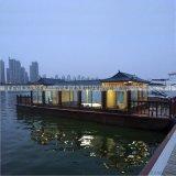 大型電動觀光畫舫木船景區遊覽客船