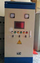 ABB恒压供水变频柜一拖二人机界面4kw触摸屏控制电柜电控柜电气柜