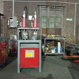 厂家直销方管圆管液压冲孔机槽钢角铁打孔设备冲断