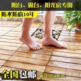 实木加厚免安装地板 幼儿园地板