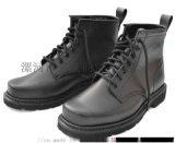 01单钢头钢板防护军短靴真皮特种兵户外军勾系带短筒