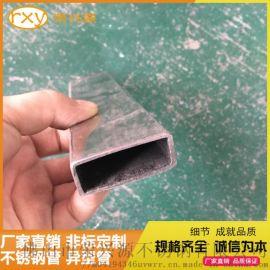 304不鏽鋼矩形管 大口徑矩形管定做 焊接矩形管