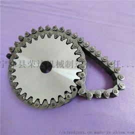 倒齿形无声齿形链条  包装机械无声齿形链条
