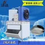 日产2000公斤鳞片商用小型片冰机保鲜冷藏制冰机