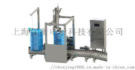 上海全自动防爆气体灌装秤,3公斤料罐式灌装秤,6公斤防腐蚀定量灌装秤,全不锈钢自动称重灌装机