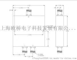一分二功分器PP2-16-450-1N