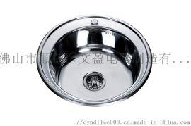 南美/欧洲圆盆不锈钢厨房水槽厂家