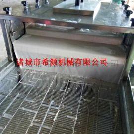 供应刀鱼块、带鱼块上浆裹糠机 海产品上浆裹粉机