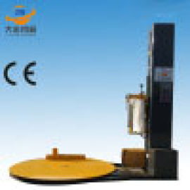 托盘缠绕机预拉伸模架托盘缠膜包装机 支持加工定制