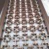 展厅专业设计玫瑰金钛金不锈钢隔断厂家加工