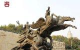 四川泥塑廠家 假山雕塑人物定製加工