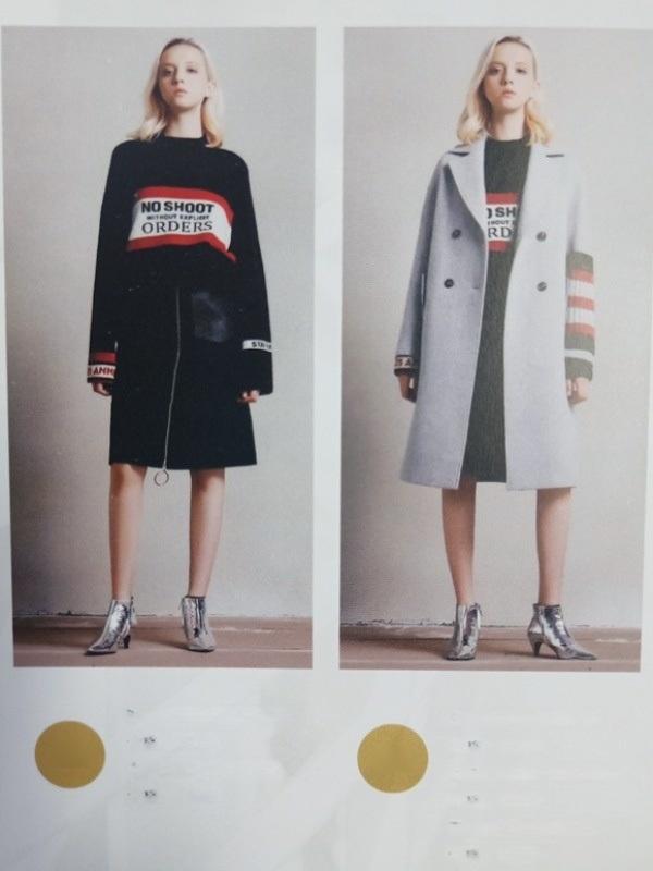 赫斯特冬季折扣品牌一手女装货源连衣裙三标齐全
