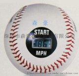 直销智能测速棒球 电子测速 硬式软木芯棒球