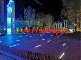 15WLED商业街线性地埋灯弧形埋地灯带