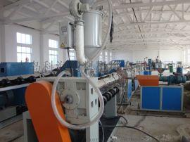 高自动化PE供水管 PE供水管生产线