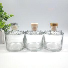 200ml精白料平口圓柱香薰瓶