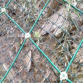 钢丝绳防护网@钢丝绳网厂家@包塑钢丝绳网
