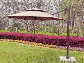 户外遮阳伞大太阳伞庭院花园太阳伞休闲别墅侧立伞