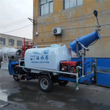 夏季工程降尘三轮洒水车, 喷雾治理扬尘洒水车