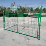 扁铁护栏 绿色喷塑框架护栏 抗氧化框架护栏