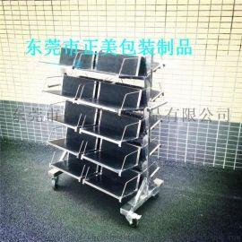 不锈钢PCB挂篮车,防尘PCB板周转车 广州定做