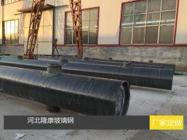 脱硫塔内外玻璃钢防腐耐磨管道厂家直销