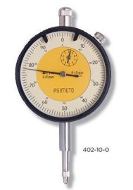 ASIMETO德国进口1-100mm指针百分表/指针千分表