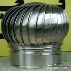 304材质环保型烟道风帽680型不锈钢风球无动力风机厂家价格