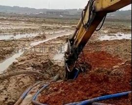 港口水坝维护液压式泥沙泵/高耐磨挖掘机抽砂泵